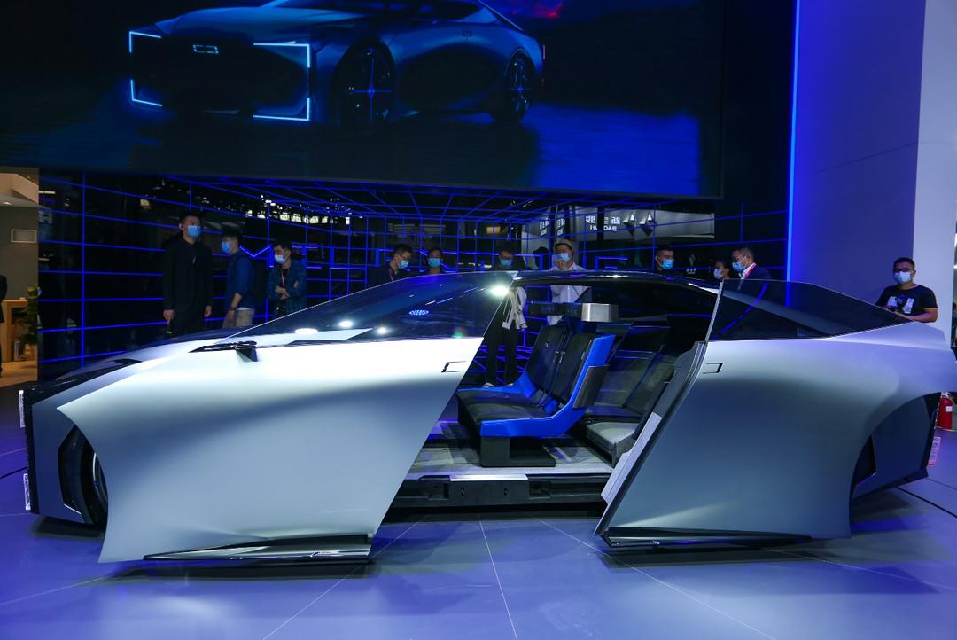 观致MILESTONE概念车惊艳亮相,展现未来设计趋势